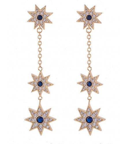 E861 - Snow Fringe Earrings