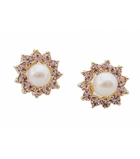 E863 - Pearl small earring
