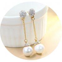 E864 - Long  tassel earrings