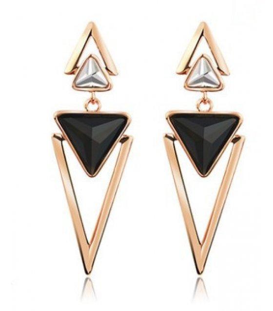 E883 - Geometric color Earrings