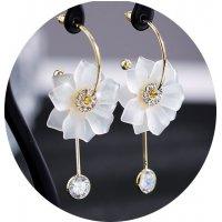 E884 - Flower earrings