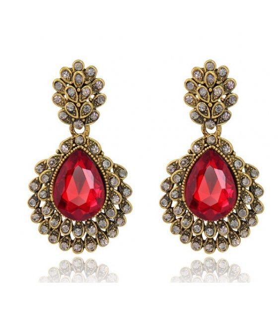 E892 - Retro pendant earrings