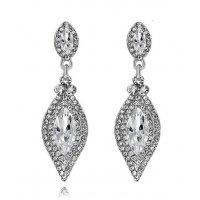E893 - America crystal earrings