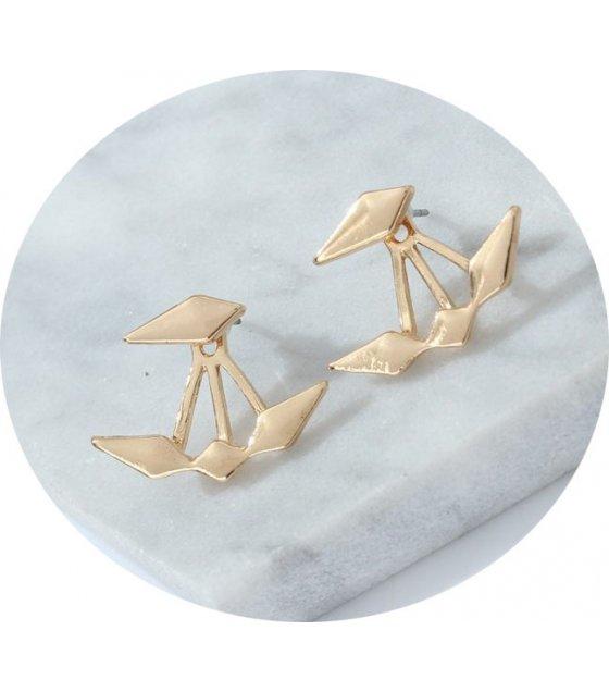 E897 - Smooth diamond earrings