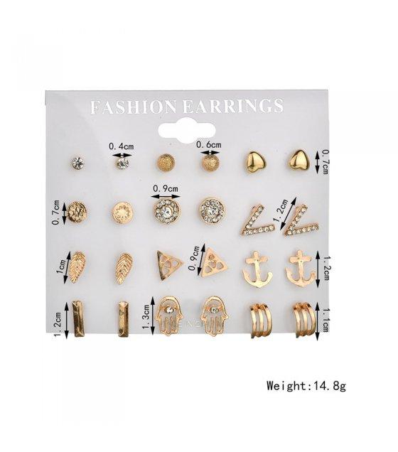 E900 - Crystal Earrings Set