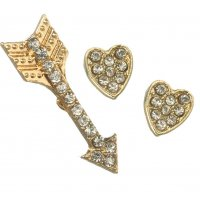 E912 - Love arrow Earring Set