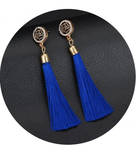 E948 - Tassel long earrings