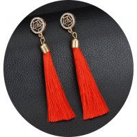 E950 - Tassel long earrings