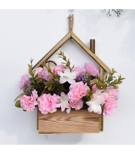 FW012 - Creative Home Wall Hanging Flower Pot Decorative Plant Ornament