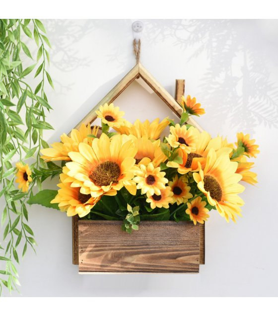 FW013 - Creative Home Wall Hanging Flower Pot Decorative Plant Ornament