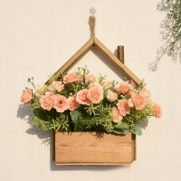 FW014 - Creative Decorative Flower Pot Hanging Wall Ornament