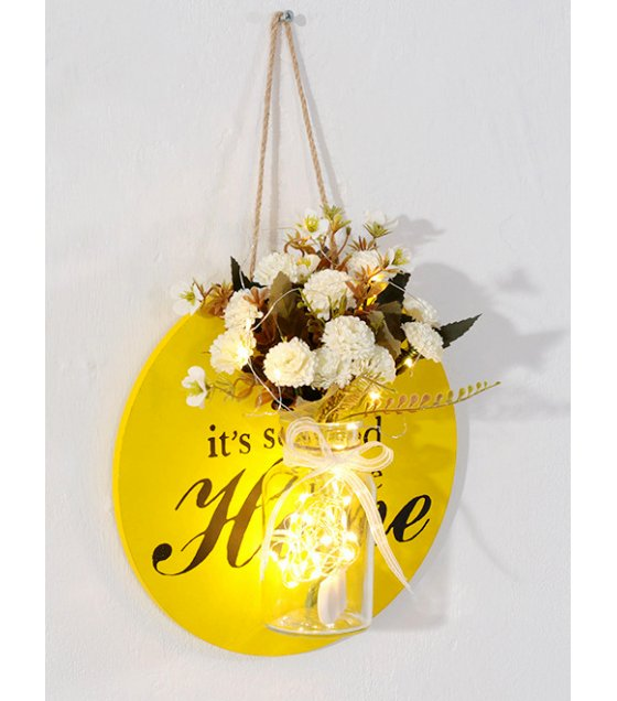 FW017 - Living room Hanging Wall Decoration Flower Pot
