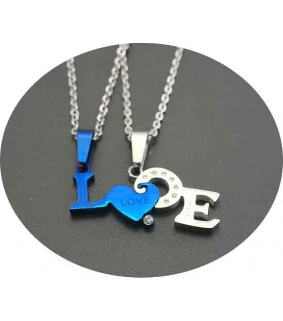 GC017 - Blue Lovers Choice Necklace