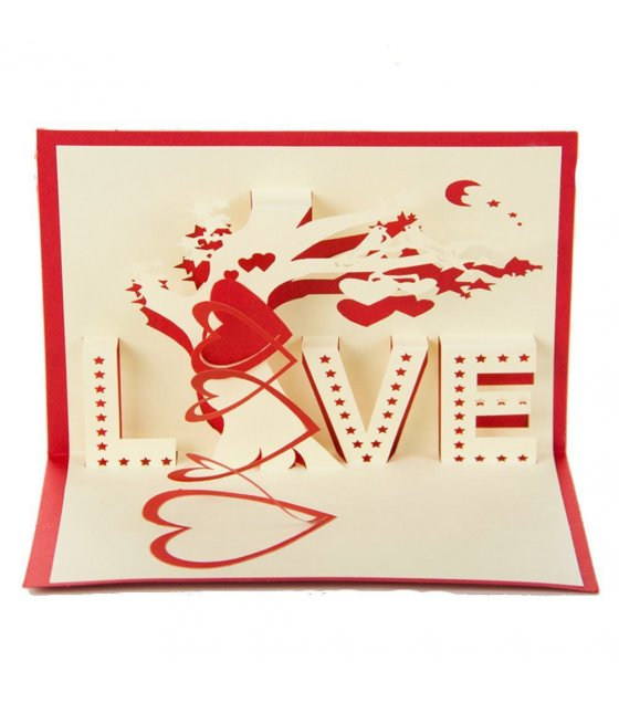 GC026 - Love 3D Gift Card
