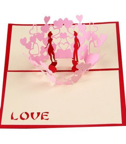 GC028 - 3D lovers Dance Gift Card