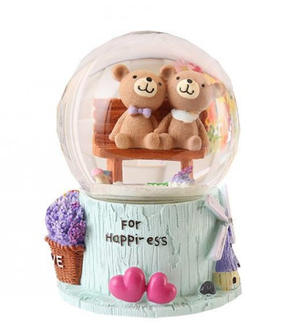 GC048 - Bear Lovers Snow Globe Gift