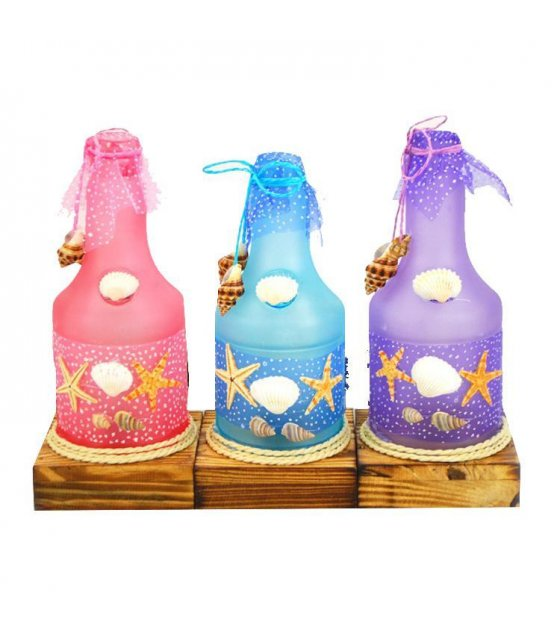 GC080 - Sea Shell Light bottle