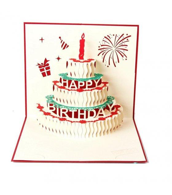 GC111 3D Birthday Card Sri lanka – 3d Birthday Card
