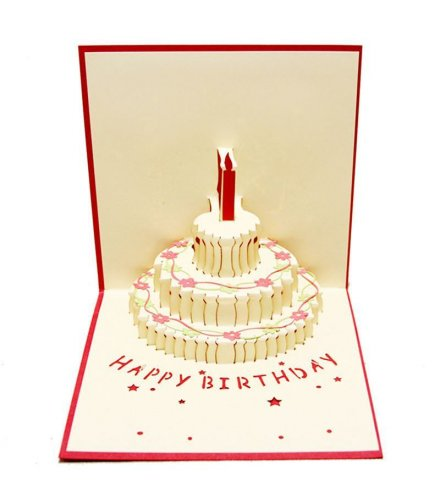 GC115 - 3D Birthday Card
