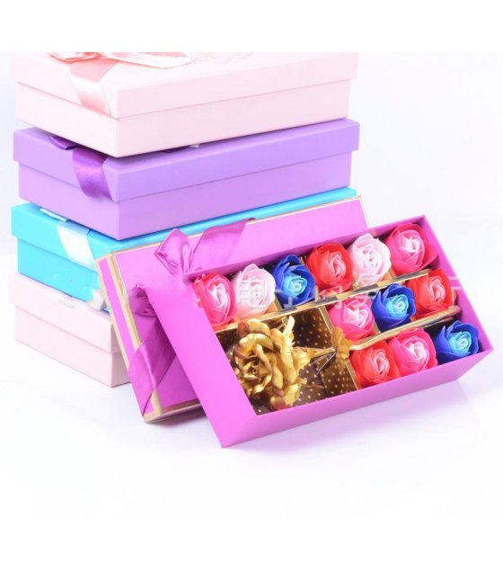 GC168 - Golden Rose Scented Box