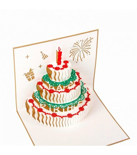 GC178 - 3D Birthday Card