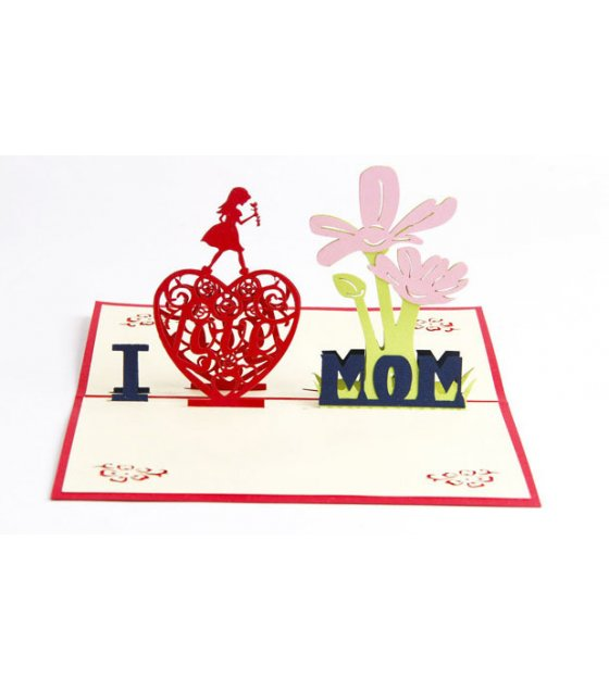 GC181 - 3D Mother's Day greeting card