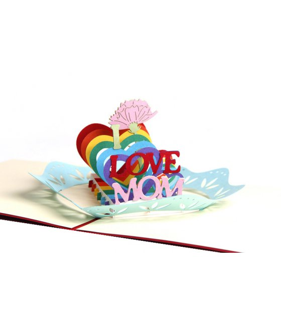 GC184 - 3D Mother's Day Greeting Cards