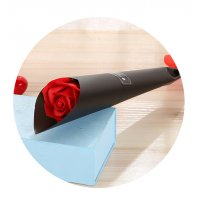 GC190 - Single rose flower color paper