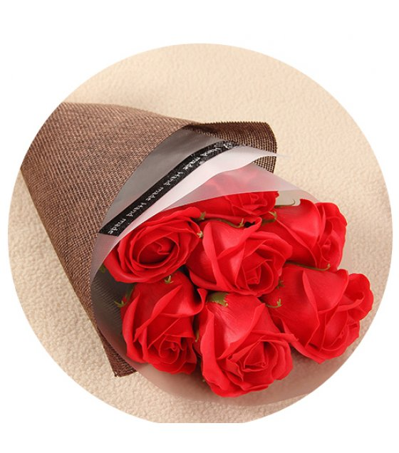 GC191 - Valentine 's Day gift SOAP bouquet gift box