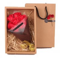 GC195 - Gift Soap Bouquet Rose Gift Box
