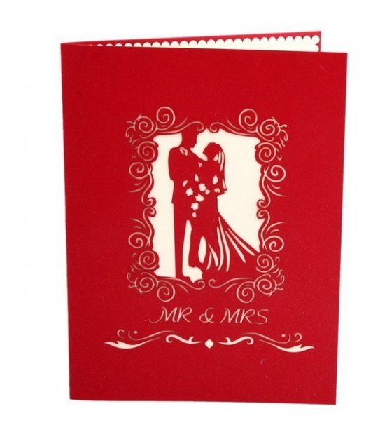 GC200 - Romantic 3D Pop Up Card