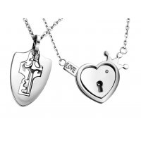 GC204 - Valentines Gift Couple Necklace