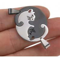 GC218 - Stainless steel Cute Valentines Pendant