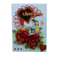 GCH055 - 3D Romantic Valentines Gift Card
