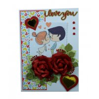 GCH056 - 3D Romantic Valentines Gift Card