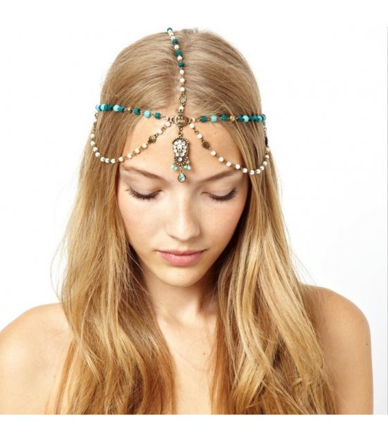HA050 - Beaded Headchain