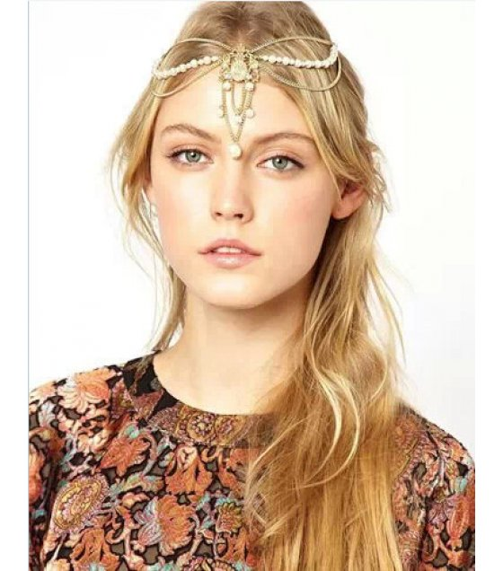 HA052 - Elegant Gold Headchain