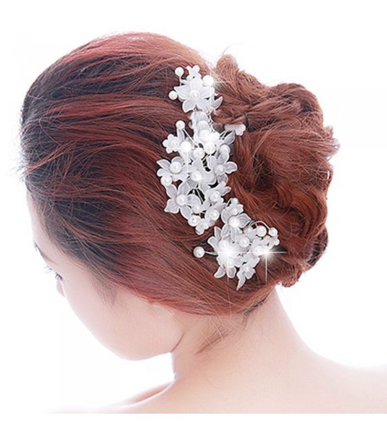 HA056 - Floral Lace Hair Ornament