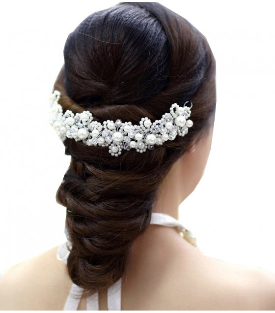 HA057 - Elegant Pearl Hair Brooch