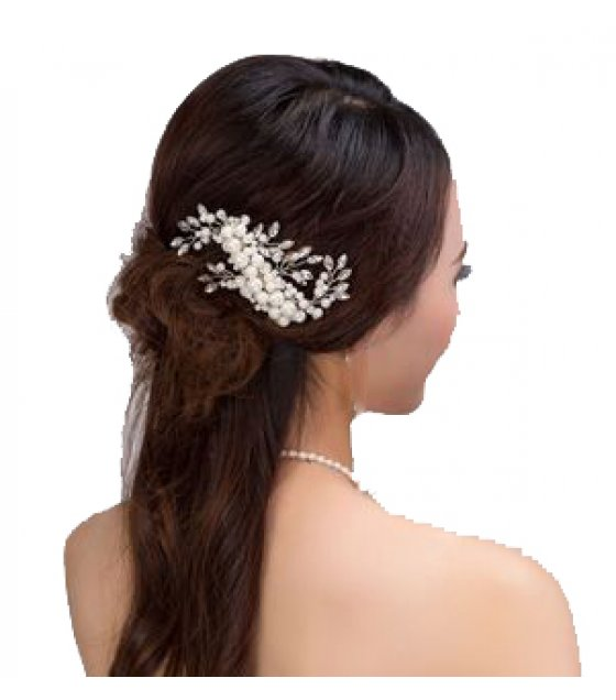 HA058 - Simple Pearl Hair Pin