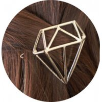 HA065 - Triangle diamond side clip