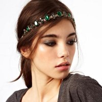 HA080 - Drill emerald headband