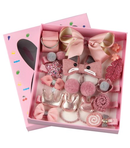 HA158 - 18-piece set Cute Hair Accessories Set