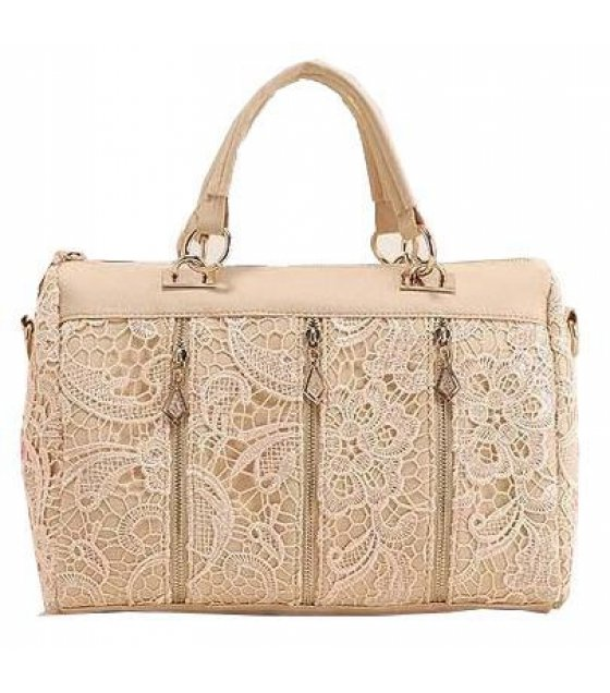 H083 - Luxury Cream Handbag