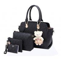 H1000 - Four Piece Korean Shoulder Bag Set