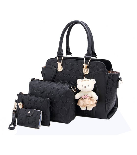 H1000 - Four Piece Korean Shoulder Bag Set