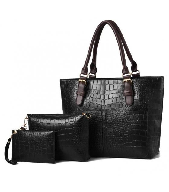 H1005 - Elegant 3pc Handbag Set