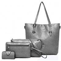 H1019 - Korean 4pc Messenger Handbag Set