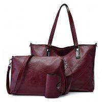 H1024 - Retro 3pc Handbag Set