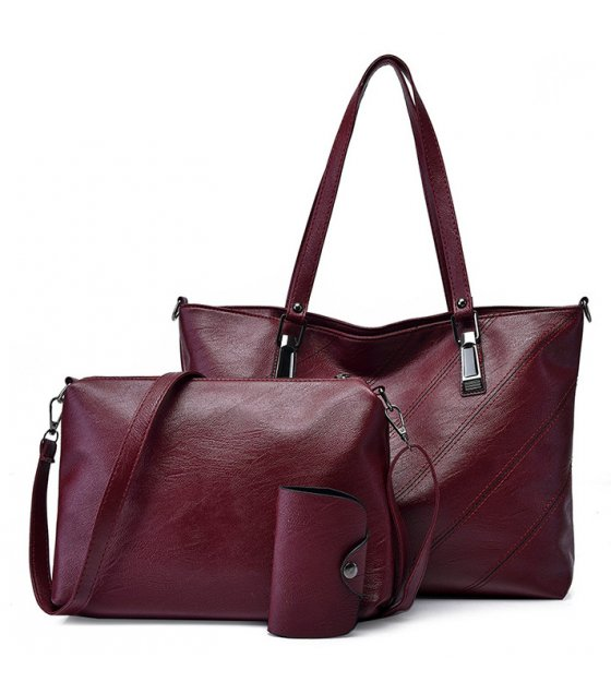 H1024 - Retro 3pc Handbag Set
